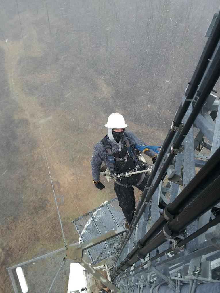 tower climber photo contest submission