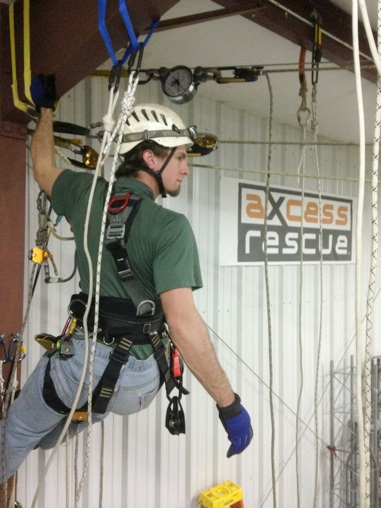 Axcess Rescue Rope Access Training