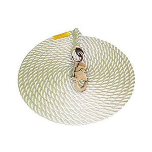DBI SALA Lifeline Vertical 5|8″ X 50 Ft Nylon Rope W|hook