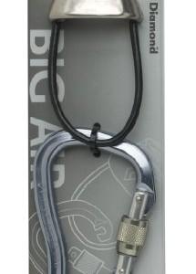 Black Diamond Big Air Package (Belay Device plus Locking Biner)
