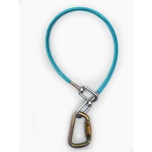 Climb Tech 5k Wire Rope Sling W/ Swivel End 8211 3ft