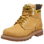 "Caterpillar Men's 2nd Shift 6"" Plain Soft Toe Boot,Honey,9 M US"