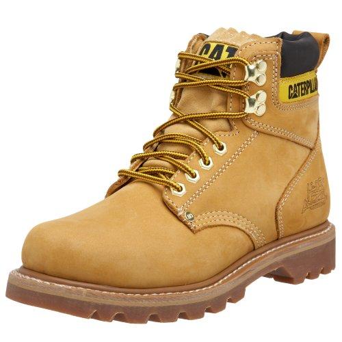 "Caterpillar Men's 2nd Shift 6"" Plain Soft Toe Boot,Honey,9 M US"