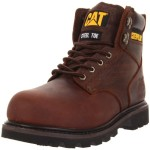Caterpillar Men's Second Shift ST Work Boot,Dark Brown,10.5 M US