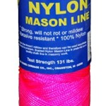 Colored Twisted and Braided Nylon Mason Line Twine 250' 272' 275' 500' 544' 550'
