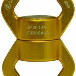 DBI-SALA,Rollgliss Technical Rescue 8700144 Swivel, 9,000LB Minimum Breaking Strength, Gold