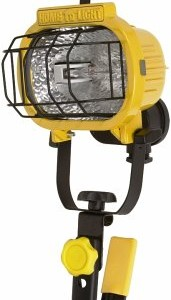 Designers Edge L-845 One-Light Halogen Portable Worklight