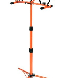 Designers Edge L14SLED 1000 Watt Twin Head Adjustable Work Light With  Telescoping Tripod Stand