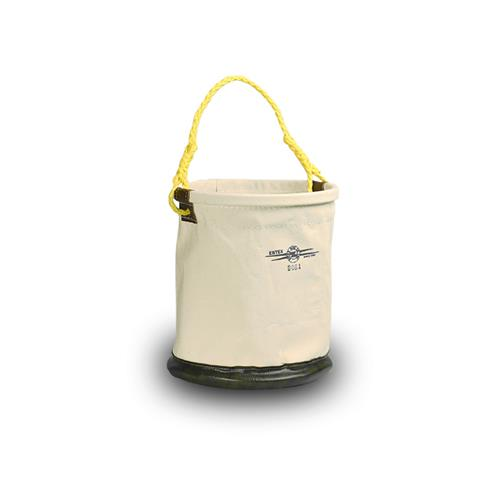 Estex Tool Bucket 12″ X 15″ Canvas With Leather Bottom