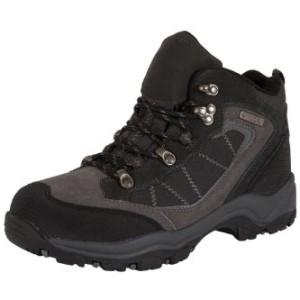 Explorer Womens Waterproof Leather Walking Hiking Boots Charcoal 9.5 M US Women