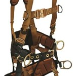 FallTech 7085L, ComforTech Tower Climber 4-D Full Body Harness