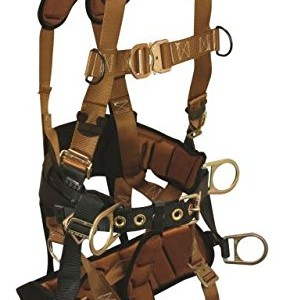 FallTech 7085XL, ComforTech Tower Climber 4-D Full Body Harness