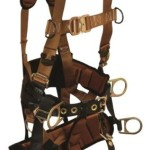 FallTech 7084L, ComforTech Tower Climber 4-D Full Body Harness