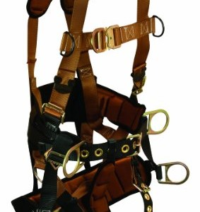 Falltech 7084xl Falltech Tower Climber Harness with Seat & Back Support 7084xl