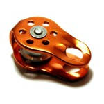 Fusion Fixed Side Pulley (Orange)