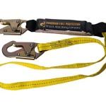 Guardian Fall Protection 01220 6-Foot Single Leg Shock Absorbing Lanyard