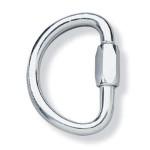 PMI 9 5mm Semi Circular Screw Link Galvanized Steel