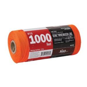 Koch Industries Twisted Mason Line, #18 by 1000 Feet, Orange, Tube