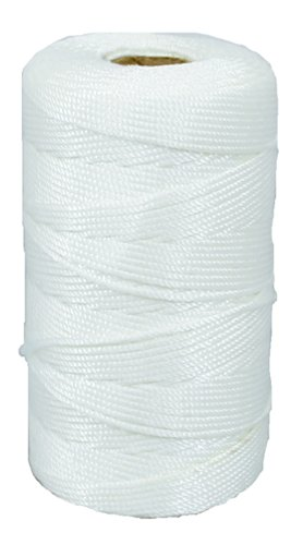 Lehigh BNT12W6 18-Inch by 500-Feet Nylon Braided Mason Line, White