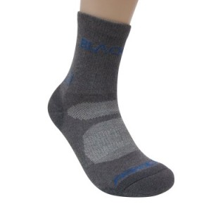 Mens Premium Aerocool Trekking Outdoor Walking Hiking Socks (2 Pair) Size US 7~10 / UK 6.5 ~ 9.5 / EURO 40 ~ 44.5 (Grey)