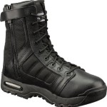 "Original Swat 123201 Men's Black Metro Air 9"" Side-Zip Leather Boot Size: 9.5"
