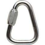 Petzl Delta Screw Link 10mm Trangle Steel