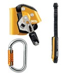 Petzl ASAP LOCK with 40cm ASAPsorbor and Petxl Tri-Act Ok Carabiner
