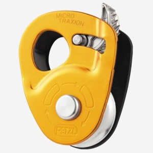 Petzl Micro Traxion Pulley Gold, One Size