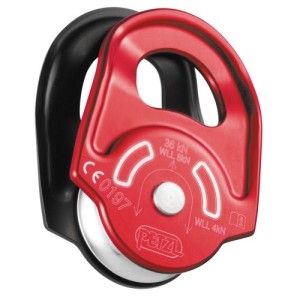 Petzl – Rescue Pulley – Red/Black