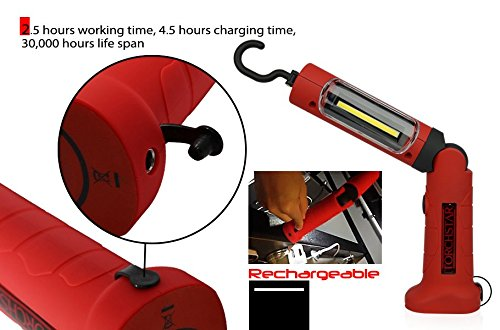 Portable Cordless Rechargeable Led Work Light Work Lamp W