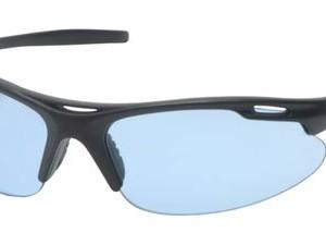 Pyramex Avante Safety Eyewear, Infinity Blue Lens With Black Frame