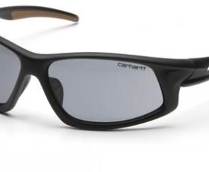 Pyramex Carthage Safety Glasses, Gray Anti-fog Lens w/ Black/Tan Frame CHB620DTCS