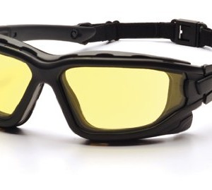 Pyramex I-Force Sporty Dual Pane Anti Fog Amber Lens Goggle