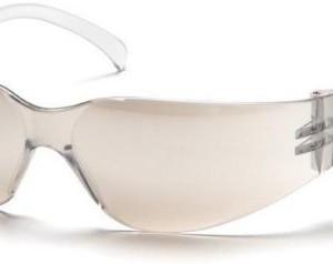 Pyramex Intruder Safety Eyewear, Indoor/Outdoor Mirror Lens With Indoor/Outdoor Mirror Frame