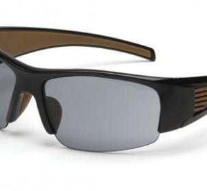Pyramex Rockwood Safety Glasses, Sandstone Bronze Anti-fog Lens w/ Black Frame CHB520DTCS