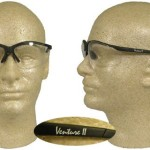 Pyramex SB1810S Venture II - Black Frame with Clear Lens Safety Glasses