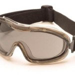 Pyramex Safety G724T Goggles Chemical Splash Anti-Fog Lens, Grey