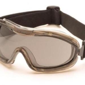 Pyramex Safety G724T Goggles Chemical Splash Anti-Fog Lens, Grey