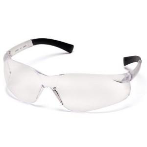 Pyramex Ztek Safety Eyewear, Clear Anti-Fog Lens With Clear Frame