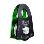 SMC 2 Single Prusik Minding Pulley Nfpa Greenblack