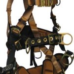 TOWER CLIMBER HARNESS - FallTech Harness With Seat & Back Support 7084L