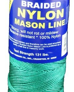 T.W . Evans Cordage 12-502 Number-1 Braided Nylon Mason Line, 500-Feet, Green