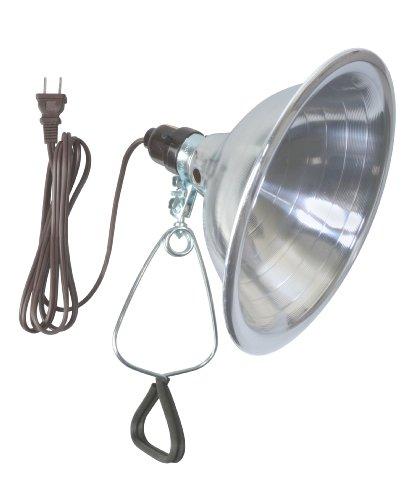 Woods 0151 18/2-Gauge SPT-2 Clamp Lamp with 8.5-Inch Reflector, 150-Watt, 6-Foot Cord